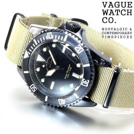 ヴァーグウォッチ VAGUE WATCH Co. 腕時計 BLKSUB(ブラックサブ) ミリタリー BS-L-001