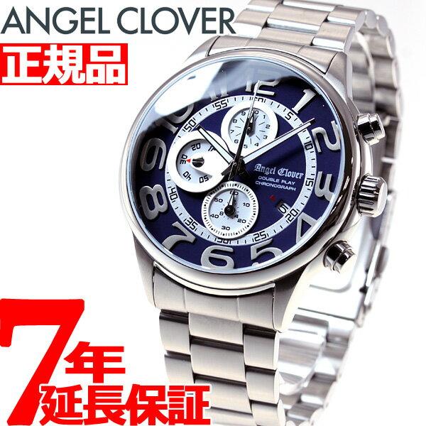 エンジェルクローバー Angel Clover 腕時計 メンズ ダブルプレイ DOUBLE PLAY クロノグラフ DP44SNV