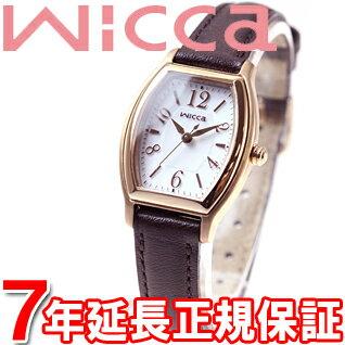 ポイント最大35倍!21日1時59分まで! シチズン ウィッカ CITIZEN wicca ソーラー エコドライブ 腕時計 レディース ソーラーテック スタンダード トノー KH8-721-12