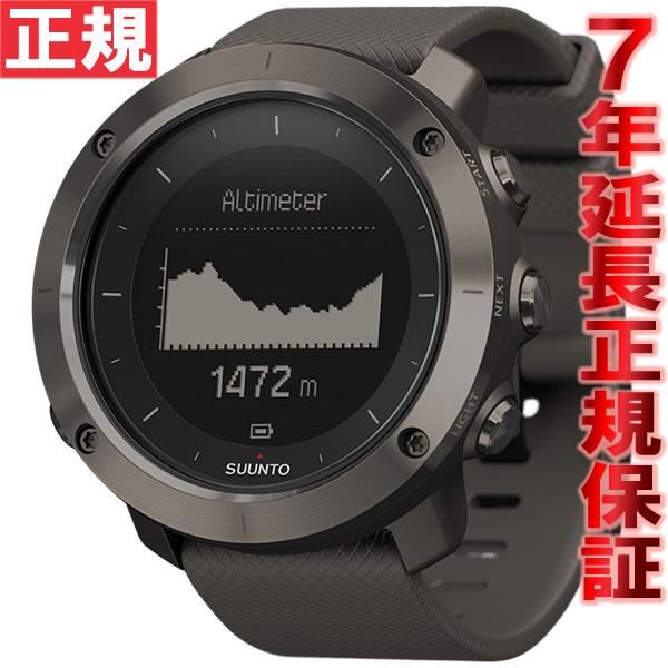 【1000円OFFクーポン!12月21日1時59分まで!】スント トラバース グラファイト SUUNTO TRAVERSE GRAPHITE 腕時計 GPSウォッチ Bluetooth搭載 SS022226000