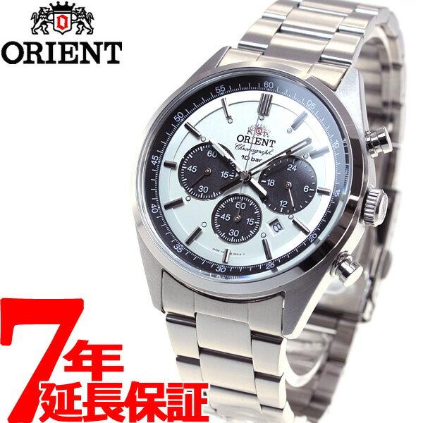 オリエント ネオセブンティーズ ORIENT Neo70's ソーラー 腕時計 メンズ クロノグラフ WV0041TX