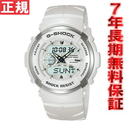 G-300LV-7AJF G-SHOCK(Gショック) カシオ腕時計 G-SPIKE ホワイト 白 G-300LV-7AJF CASIO G-SHOCK