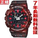 カシオ Gショック Gライド CASIO G-SHOCK G-LIDE 腕時計 メンズ レッド アナデジ GAX-100MB-4AJF