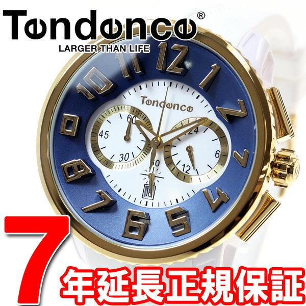 テンデンス Tendence 腕時計 メンズ/レディース ガリバー ラウンド GULLIVER Round クロノグラフ TY046016