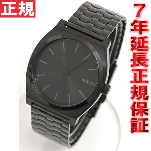 先着!クーポンで最大2千円OFF!+ポイント最大26倍!明日0時スタート!ニクソン NIXON タイムテラー TIME TELLER 腕時計 メンズ オールブラック NA045001-00