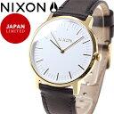 ニクソン NIXON ポーターレザー PORTER LEATHER 限定モデル 腕時計 メンズ/レディース ゴールド/ブラック NA10582523-00
