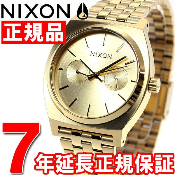 ニクソン NIXON タイムテラーデラックス TIME TELLER DELUXE 腕時計 メンズ/レディース オールゴールド NA922502-00【あす楽対応】【即納可】