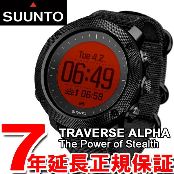 スント トラバース アルファ ステルス SUUNTO TRAVERSE ALPHA STEALTH 腕時計 メンズ GPSウォッチ ミリタリーウォッチ SS022469000