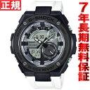 カシオ Gショック Gスチール CASIO G-SHOCK G-STEEL 腕時計 メンズ ブラック×ホワイト アナデジ GST-210B-7AJF【2016 新作】【あす楽対応】【即納可】