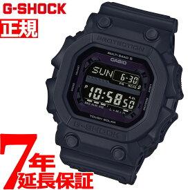 G-SHOCK 電波 ソーラー 電波時計 ブラック タフソーラー 腕時計 メンズ デジタル GXW-56BB-1JF