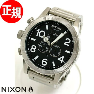 51-30 Nixon NIXON Kurono CHRONO watch NA083000-00 black