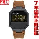 ニクソン NIXON リ・ランレザー RE-RUN LEATHER 腕時計 メンズ/レディース オールブラック/ブラウン NA944712-00【2016 新作...