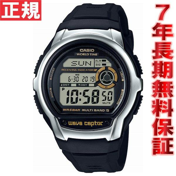カシオ ウェーブセプター CASIO wave ceptor 電波 電波時計 腕時計 メンズ デジタル WV-M60-9AJF【2017 新作】