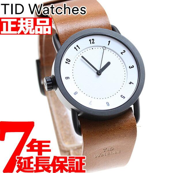 ポイント最大33倍!26日1時59分まで!さらに最大2000円OFFクーポンは25日0時から♪ティッドウォッチズ TID Watches 腕時計 メンズ/レディース ティッドウォッチ No.1 コレクション TID01-36WH/T