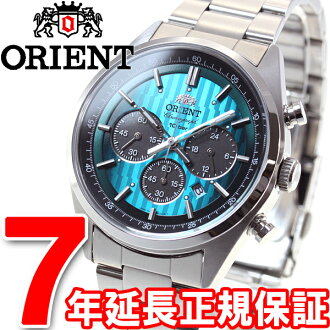 Orient neoseventys ORIENT Neo70's Christmas limited edition model solar watch men's chronograph WV0051TX
