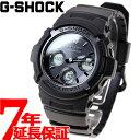 カシオ Gショック CASIO G-SHOCK 電波 ソーラー 電波時計 腕時計 メンズ 黒 ブラック アナデジ タフソーラー AWG-M100SBB-1AJF【正規品】【7年長期無料保証】