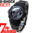 カシオ Gショック CASIO G-SHOCK 電波 ソーラー 電波時計 腕時計 メンズ ブラック アナデジ タフソーラー AWG-M100SBC…