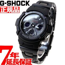 G-SHOCK 電波 ソーラー 電波時計 ブラック 腕時計 メンズ アナデジ タフソーラー AWG-M100SBC-1AJF