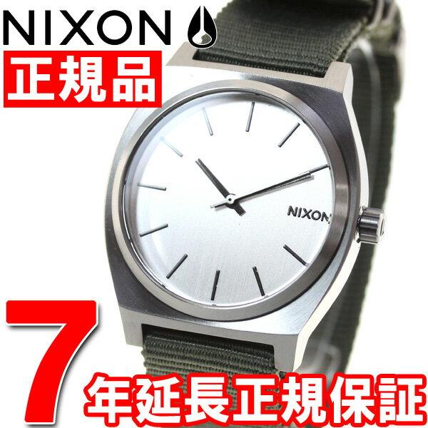 【500円OFFクーポン!11月27日12時59分まで!】ニクソン NIXON タイムテラー TIME TELLER 腕時計 メンズ/レディース ガンメタル/シルバー/サープラス NA0452491-00