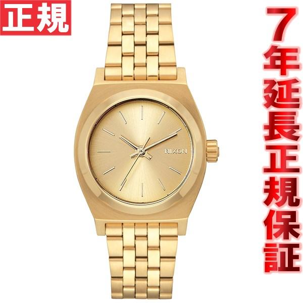 ニクソン NIXON ミディアムタイムテラー MEDIUM TIME TELLER 腕時計 レディース オールゴールド NA1130502-00