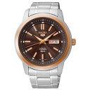 セイコー5 SEIKO5 セイコーファイブ 腕時計 メンズ セイコー 逆輸入 自動巻き メカニカル SNKM90K1(SNKM90KC)【2016 新作】