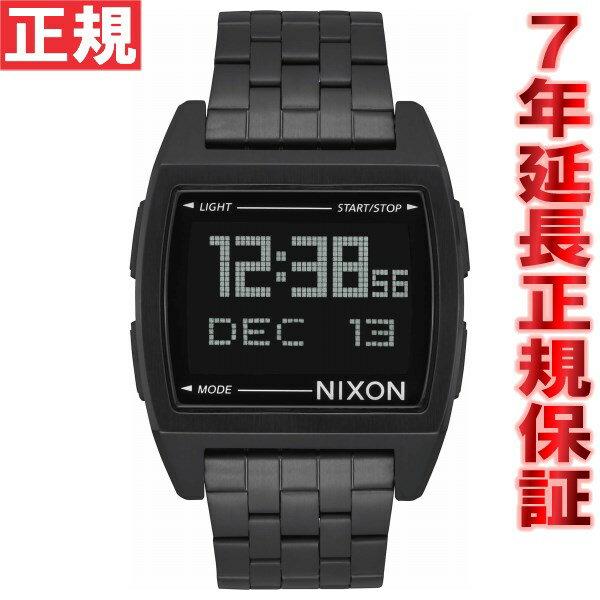 ニクソン NIXON ベース BASE 腕時計 レディース オールブラック NA1107001-00【2017 新作】