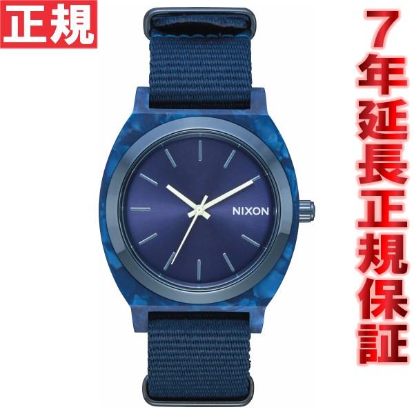 ニクソン NIXON タイムテラー アセテート TIME TELLER ACETATE 腕時計 メンズ オールブルー NA3272490-00