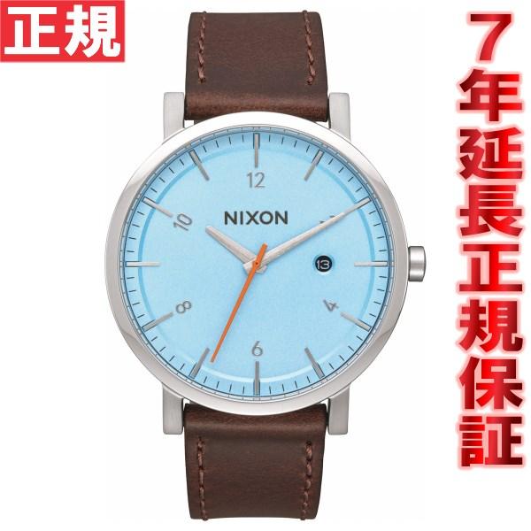 先着!最大9万円OFFクーポン付!+ポイント最大35倍は15日23時59分まで!ニクソン NIXON ロロ ROLLO 腕時計 メンズ スカイブルー/タウペ NA9452547-00