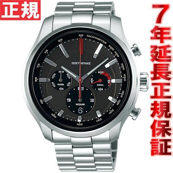 ポイント最大35倍!21日1時59分まで! イッセイミヤケ ISSEY MIYAKE 限定モデル 自動巻き 腕時計 メンズ GT ジーティー KEN OKUYAMA 奥山清行デザイン クロノグラフ NYAG701