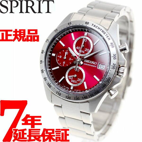 【ポイント最大28倍!さらに、クーポンで最大2000円OFF!】セイコー スピリット SEIKO SPIRIT 腕時計 メンズ クロノグラフ SBTR001【正規品】