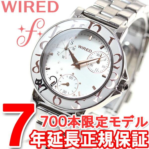 セイコー ワイアード エフ SEIKO WIRED f ネコの日 限定モデル 腕時計 レディース AGET712【2017 新作】【あす楽対応】【即納可】
