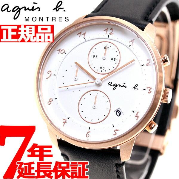 アニエスベー agnes b. 腕時計 メンズ/レディース クロノグラフ マルチェロ Marcello FBRW989【あす楽対応】【即納可】
