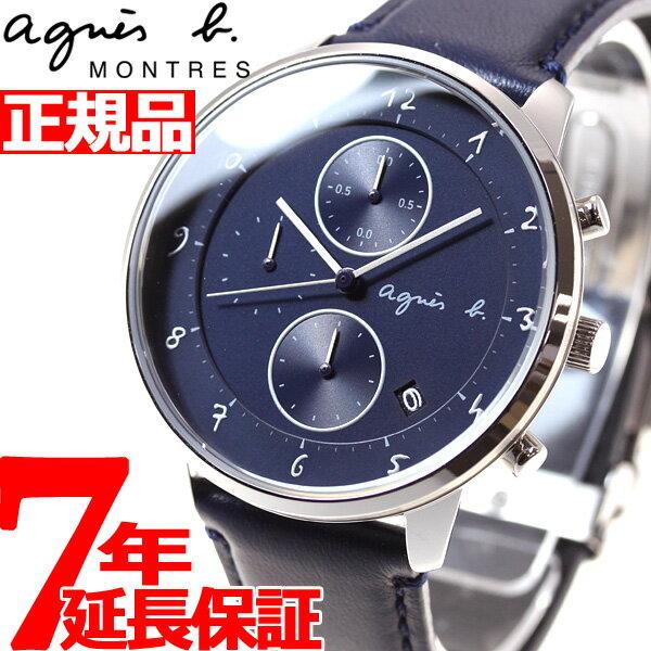 アニエスベー agnes b. 腕時計 メンズ/レディース クロノグラフ マルチェロ Marcello FBRW990【あす楽対応】【即納可】
