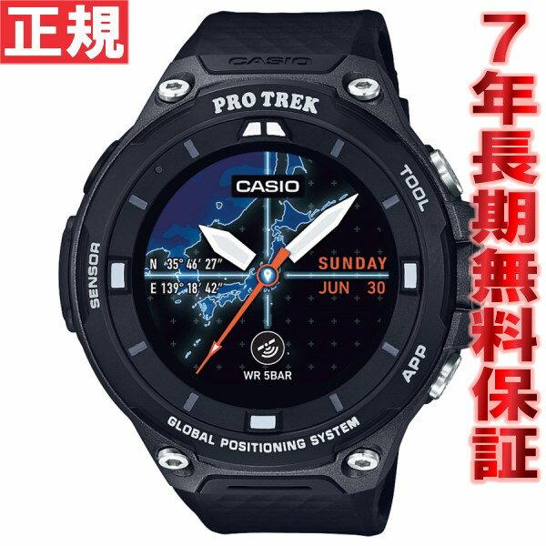 【1000円OFFクーポン!11月20日9時59分まで!】カシオ プロトレック CASIO PRO TREK スマートアウトドアウォッチ Smart Outdoor Watch ブラック 腕時計 メンズ WSD-F20-BK【2017 新作】