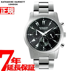 【本日限定!店内ポイント最大37倍!20日23時59分まで】キャサリンハムネット KATHARINE HAMNETT 腕時計 メンズ クロノグラフ5 CHRONOGRAPH V KH20A5-B29