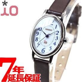 【18日10時〜!店内ポイント最大37.5倍!】オリエント イオ ナチュラル&プレーン ORIENT iO NATURAL&PLAIN 腕時計 レディース WI0491WD