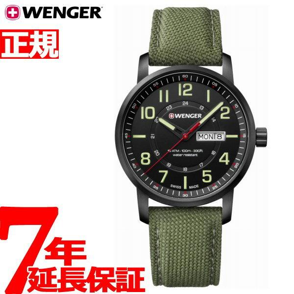 ウェンガー WENGER 腕時計 メンズ アティチュード デイデイト Attitude Day&Date 01.1541.104