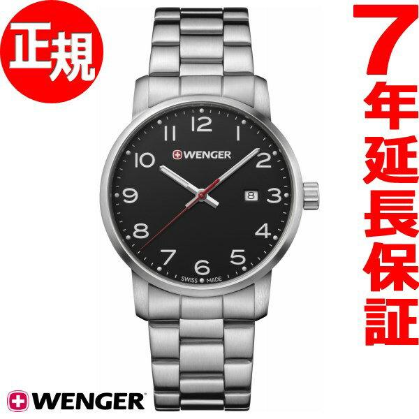 本日ポイント最大37倍!26日1時59分まで!ウェンガー WENGER 腕時計 メンズ アヴェニュー Avenue 01.1641.102