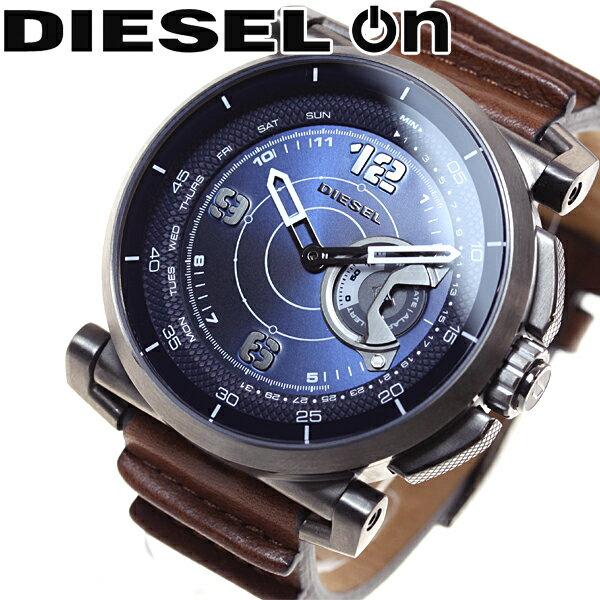ディーゼル DIESEL ON ハイブリッド スマートウォッチ ウェアラブル 腕時計 メンズ DZT1003【あす楽対応】【即納可】