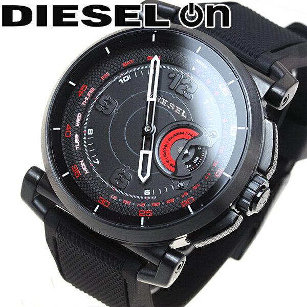 ディーゼル DIESEL ON ハイブリッド スマートウォッチ ウェアラブル 腕時計 メンズ SLEEPER DZT1006【2017 新作】【あす楽対応】【即納可】