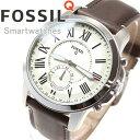 フォッシル FOSSIL ハイブリッド スマートウォッチ ウェアラブル Q GRANT 腕時計 メンズ FTW1118