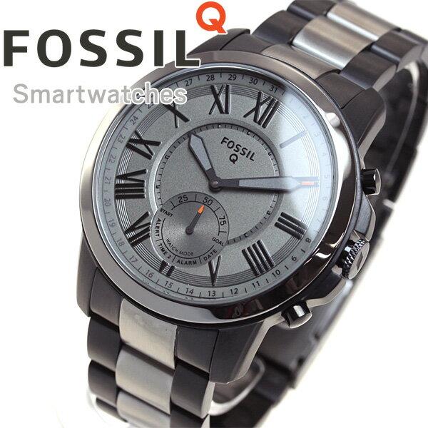 フォッシル FOSSIL ハイブリッド スマートウォッチ ウェアラブル Q GRANT 腕時計 メンズ FTW1139【2017 新作】【あす楽対応】【即納可】