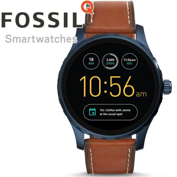 フォッシル FOSSIL スマートウォッチ ウェアラブル Q MARSHAL Qマーシャル 腕時計 メンズ/レディース FTW2106【正規品】