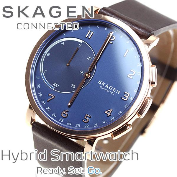 スカーゲン SKAGEN ハイブリッド スマートウォッチ ウェアラブル 腕時計 メンズ/レディース ハーゲン HAGEN CONNECTED SKT1103【あす楽対応】【即納可】
