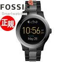 フォッシル FOSSIL Q スマートウォッチ ウェアラブル Q FOUNDER Qファウンダー 腕時計 メンズ/レディース FTW2117【あ…
