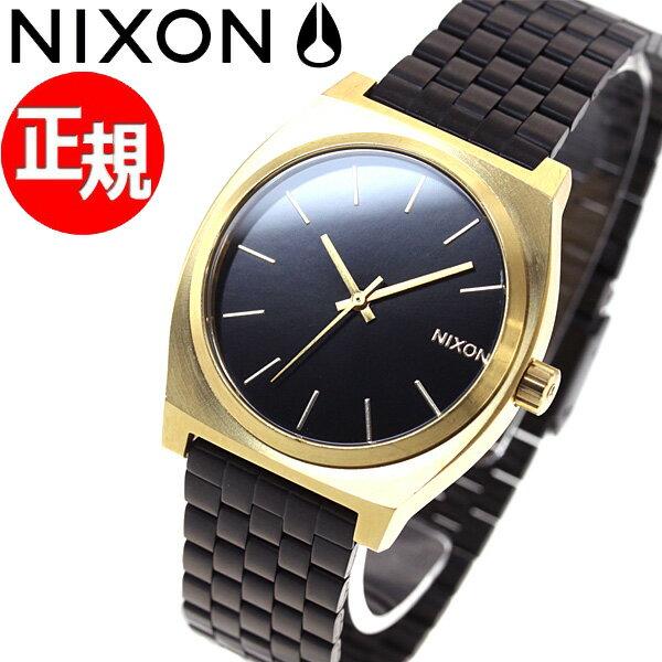 ニクソン NIXON タイムテラー TIME TELLER 腕時計 メンズ/レディース ゴールド/ブラックサンレイ NA0451604-00【2017 新作】【あす楽対応】【即納可】