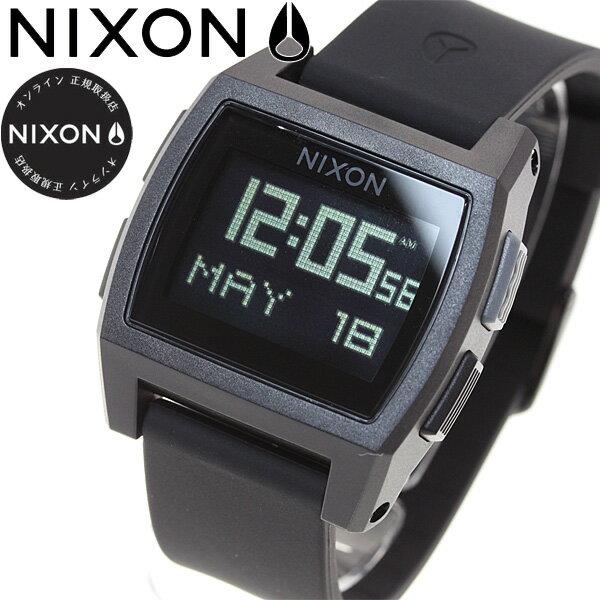 【今がお得!最大ポイント37倍!さらに最大1万円OFFクーポン配布!】ニクソン NIXON ベース タイド BASE TIDE 腕時計 レディース オールブラック NA1104001-00