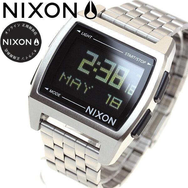 8月15日限定!最大2000円OFFクーポン配布中♪15日0時から16日9時59分まで! ニクソン NIXON ベース BASE 腕時計 レディース ブラック NA1107000-00