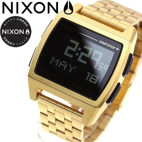 ニクソン NIXON ベース BASE 腕時計 レディース オールゴールド NA1107502-00【2017 新作】【あす楽対応】【即納可】