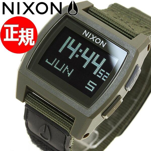 ニクソン NIXON ベースタイド ナイロン BASE TIDE NYLON 腕時計 メンズ/レディース サープラス NA11691085-00【あす楽対応】【即納可】